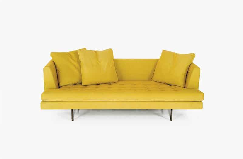 Bensen Yellow Edward Sofa Front