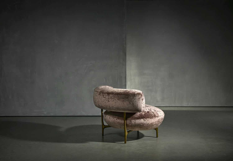 Piet Boon Ella Armchair Back Haute Living