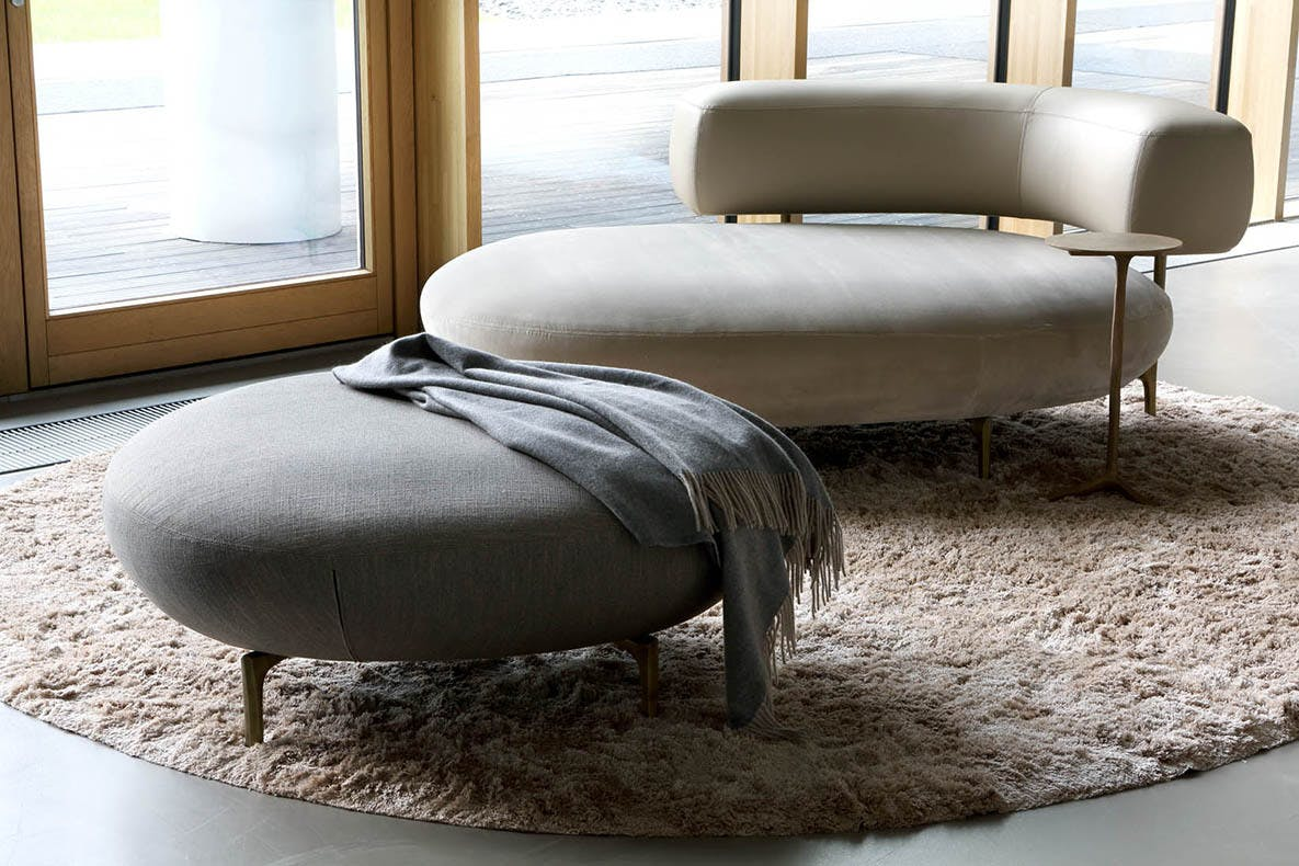 Piet Boon Ella Long Chair And Pouf Haute Living