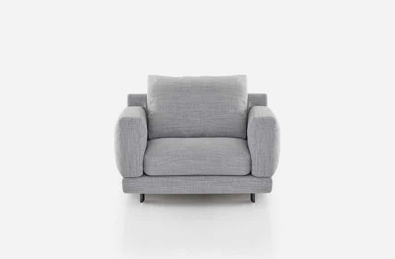 Bensen Grey Elle Armchair