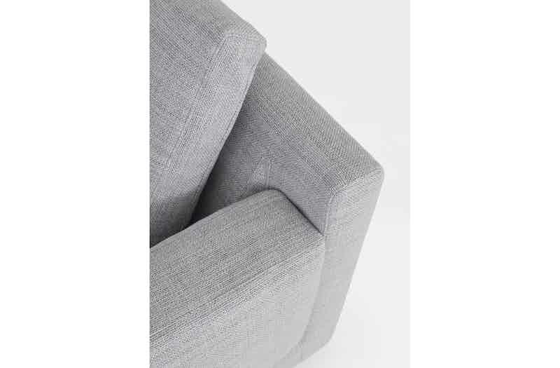 Bensen Grey Elle Sofa Detail