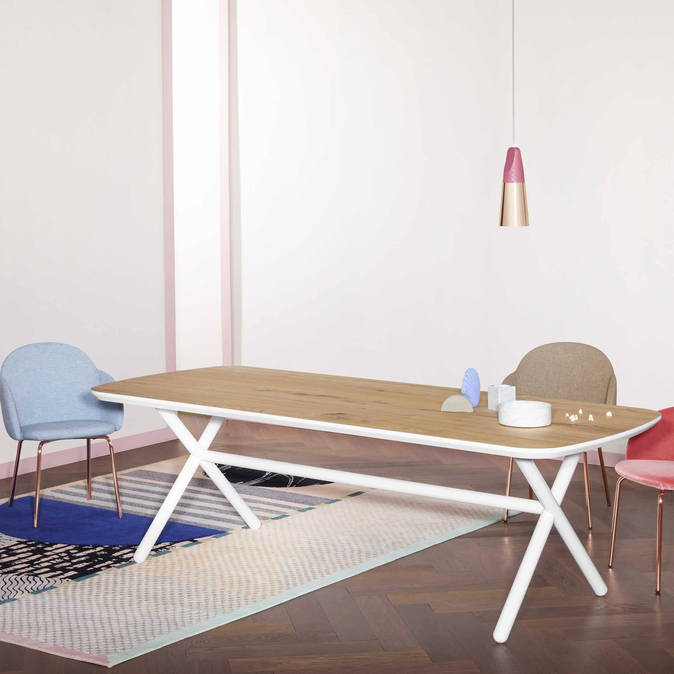 Phase Design Emile Table White Haute Living