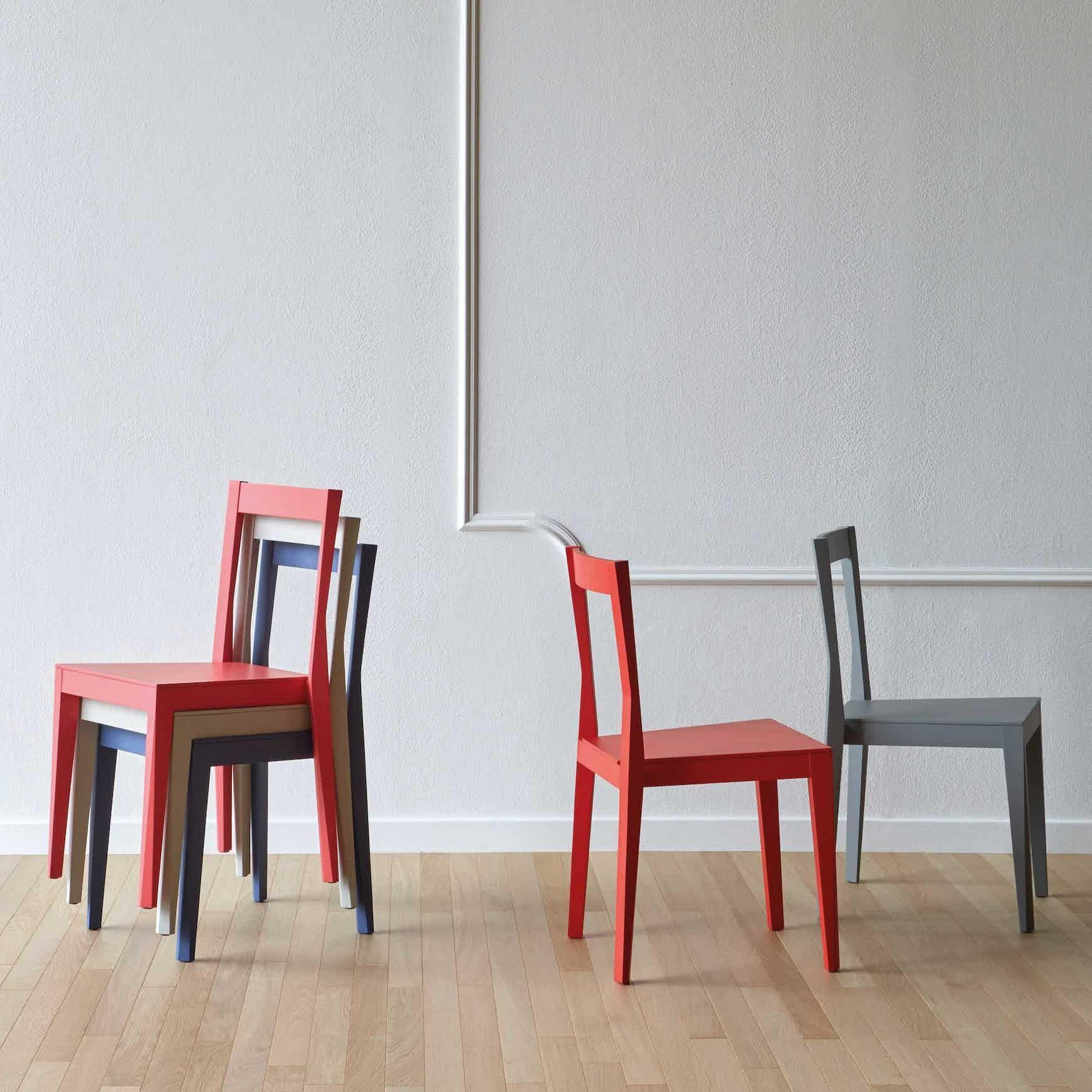 Miniforms Emilia Chair Stacked Haute Living