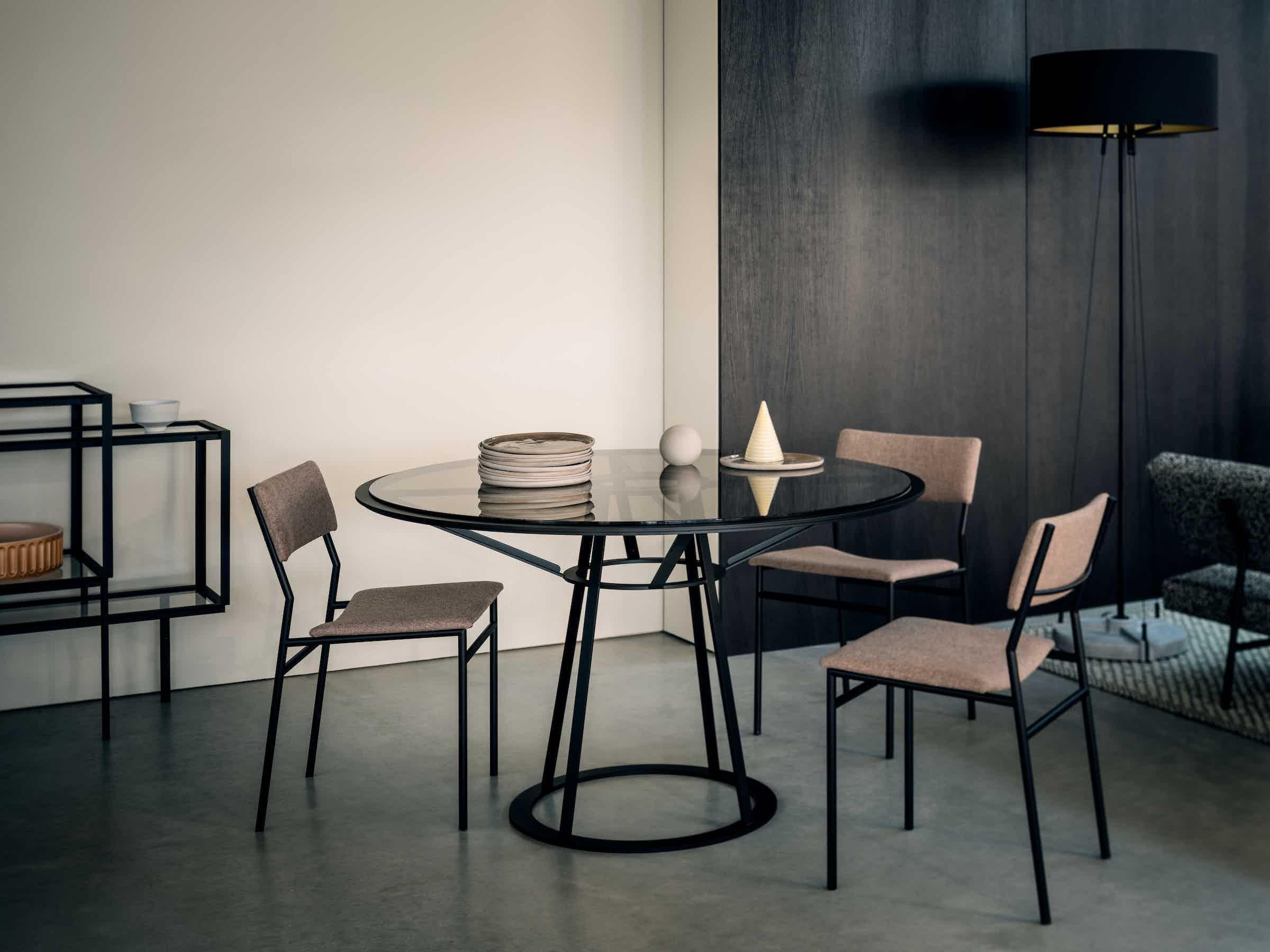 Spectrum Furniture Round Side Endless Table Institu Haute Living