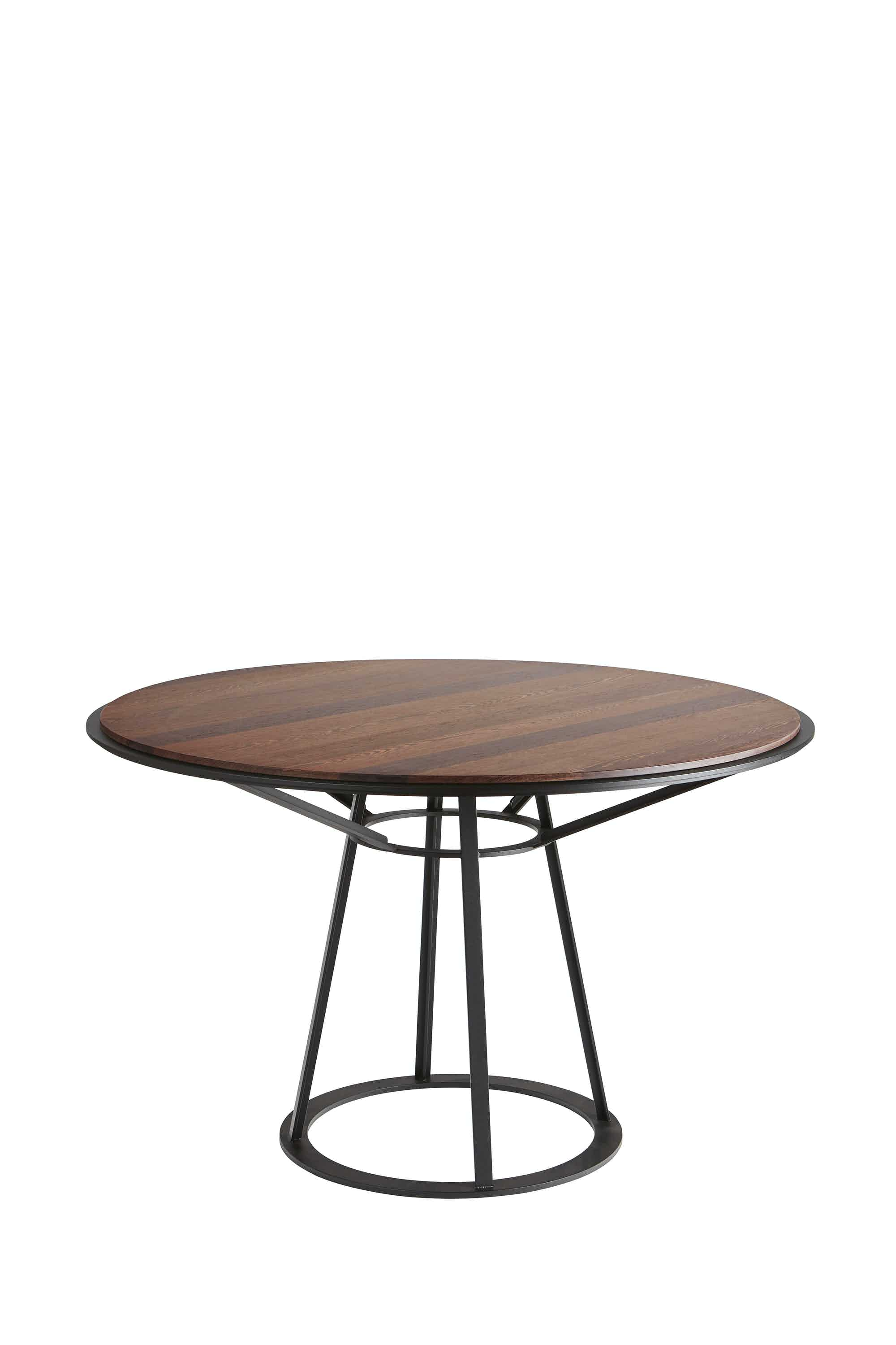 Spectrum Furniture Wenge Endless Round Table Haute Living