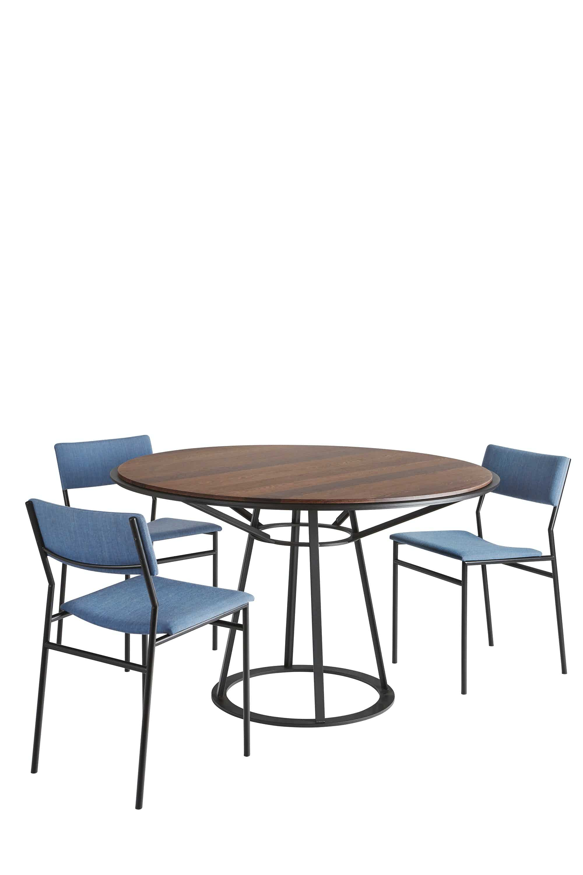 Spectrum Furniture Wenge With Chairs Endless Round Table Haute Living
