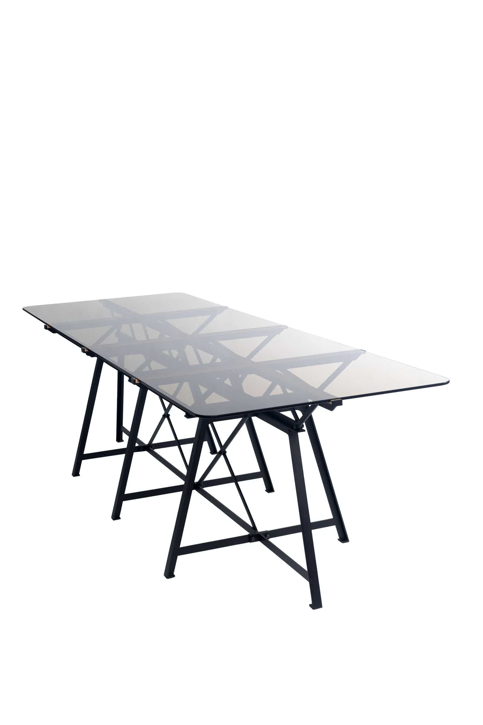 Spectrum Furniture Front Endless Table Haute Living