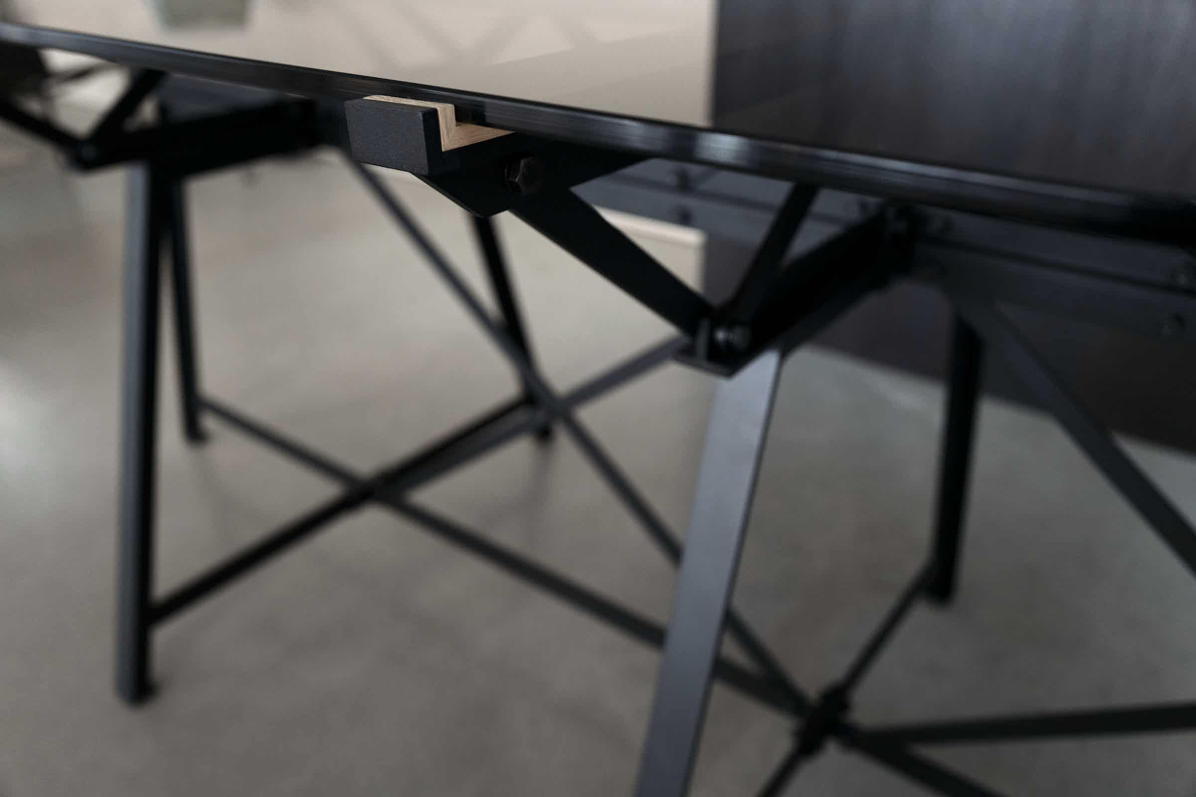 Spectrum Furniture Side Detail Endless Table Institu Haute Living