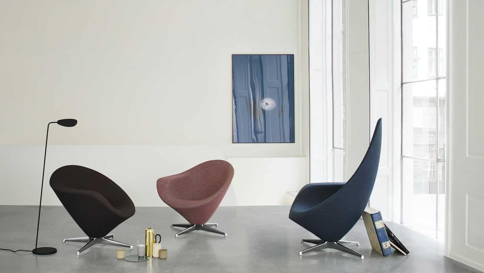 Engelbrechts plateau lounge chair trio insitu haute living