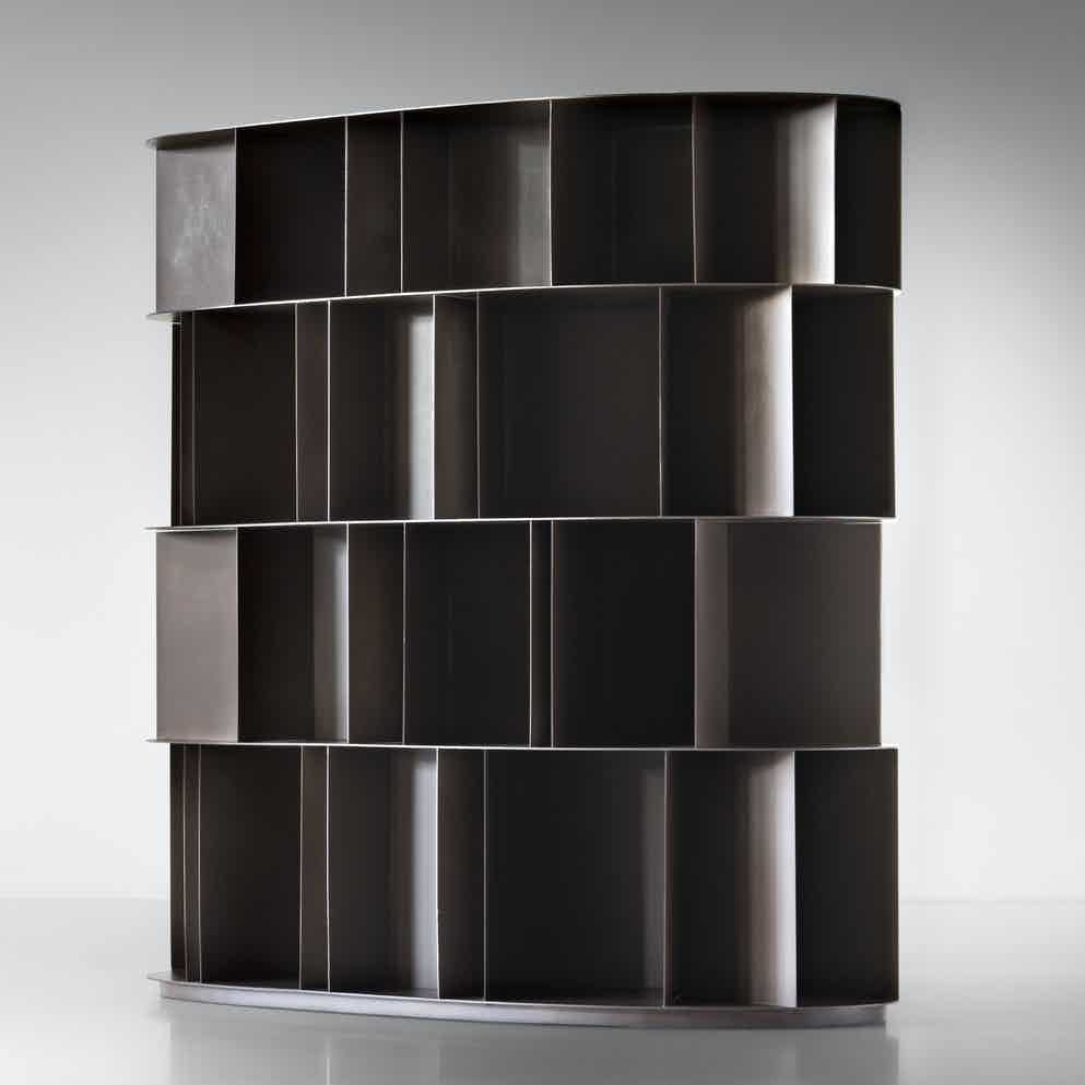 De Castelli Existence Bookcase Large Angle Haute Living