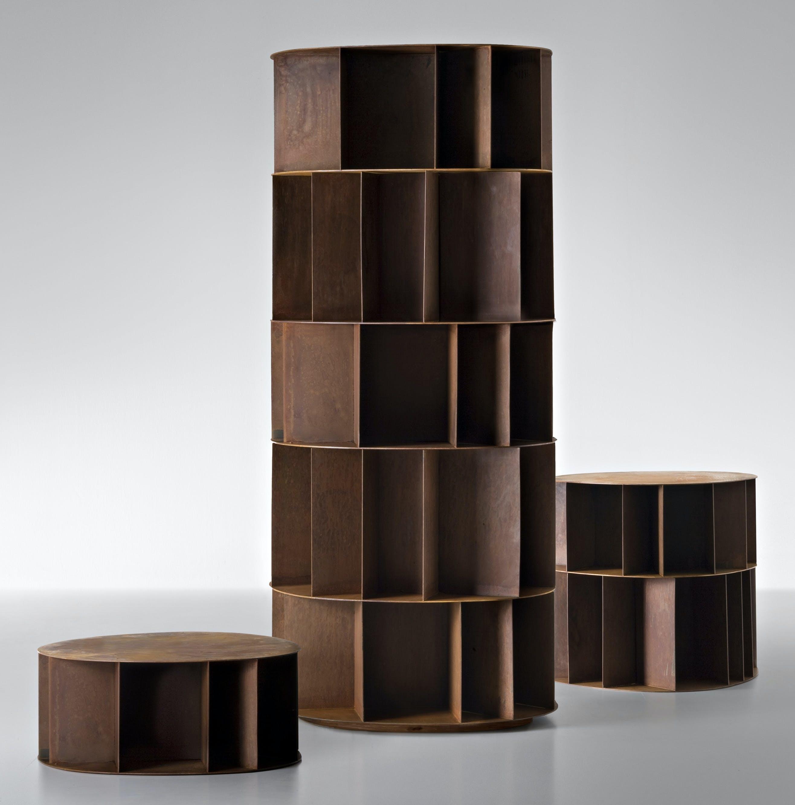 De Castelli Existence Bookcase Trio Haute Living