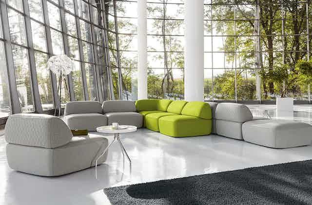 Jab Anstoetz Fat Tony Modular Sofa Insitu Commericial Haute Living