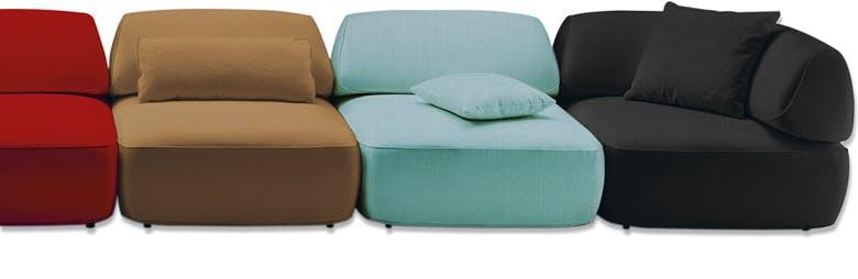 Jab Anstoetz Multicolor Fat Tony Modular Sofa