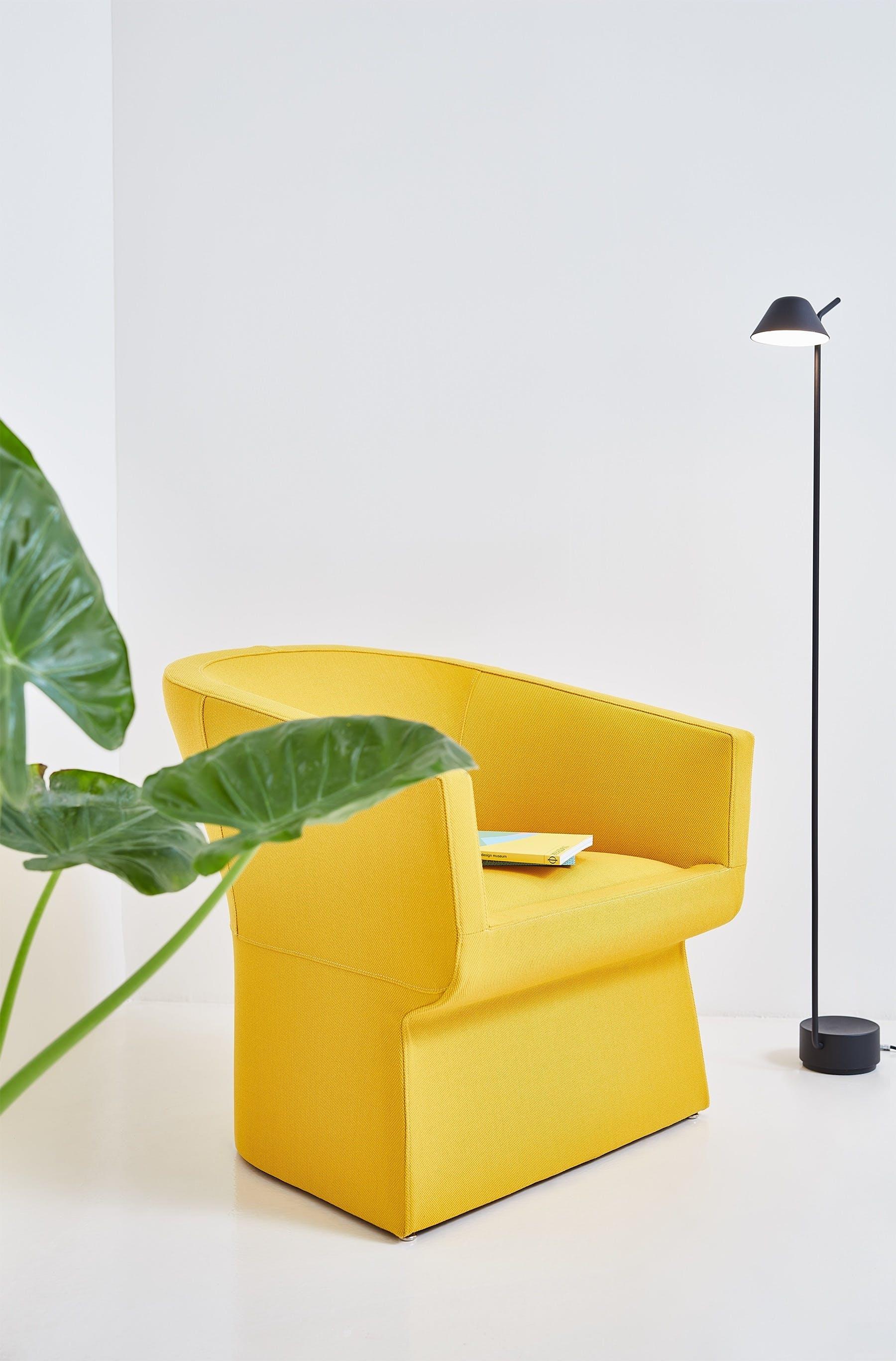 Viccarbe-yellow-fedele-armchair-institu-haute-living