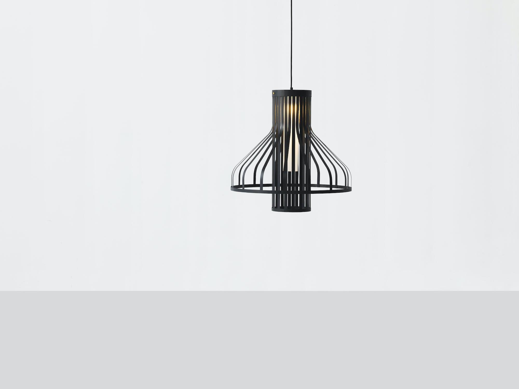 Resident-furniture-fibre-light-funnel-pendant-haute-living