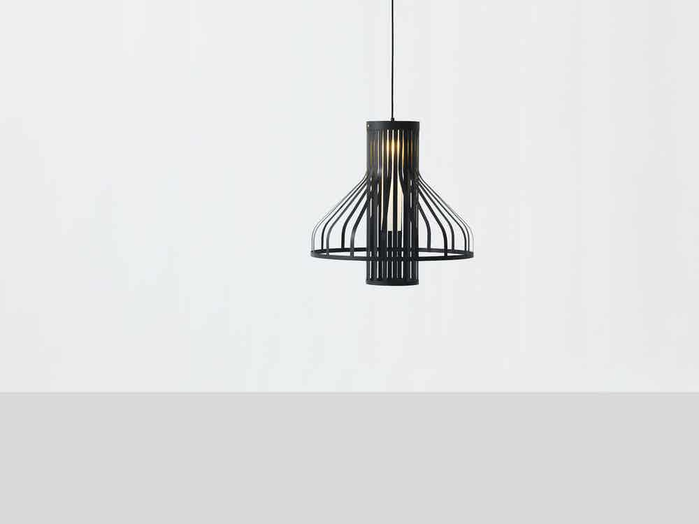 Resident-furniture-fibre-light-funnel-pendant-haute-living