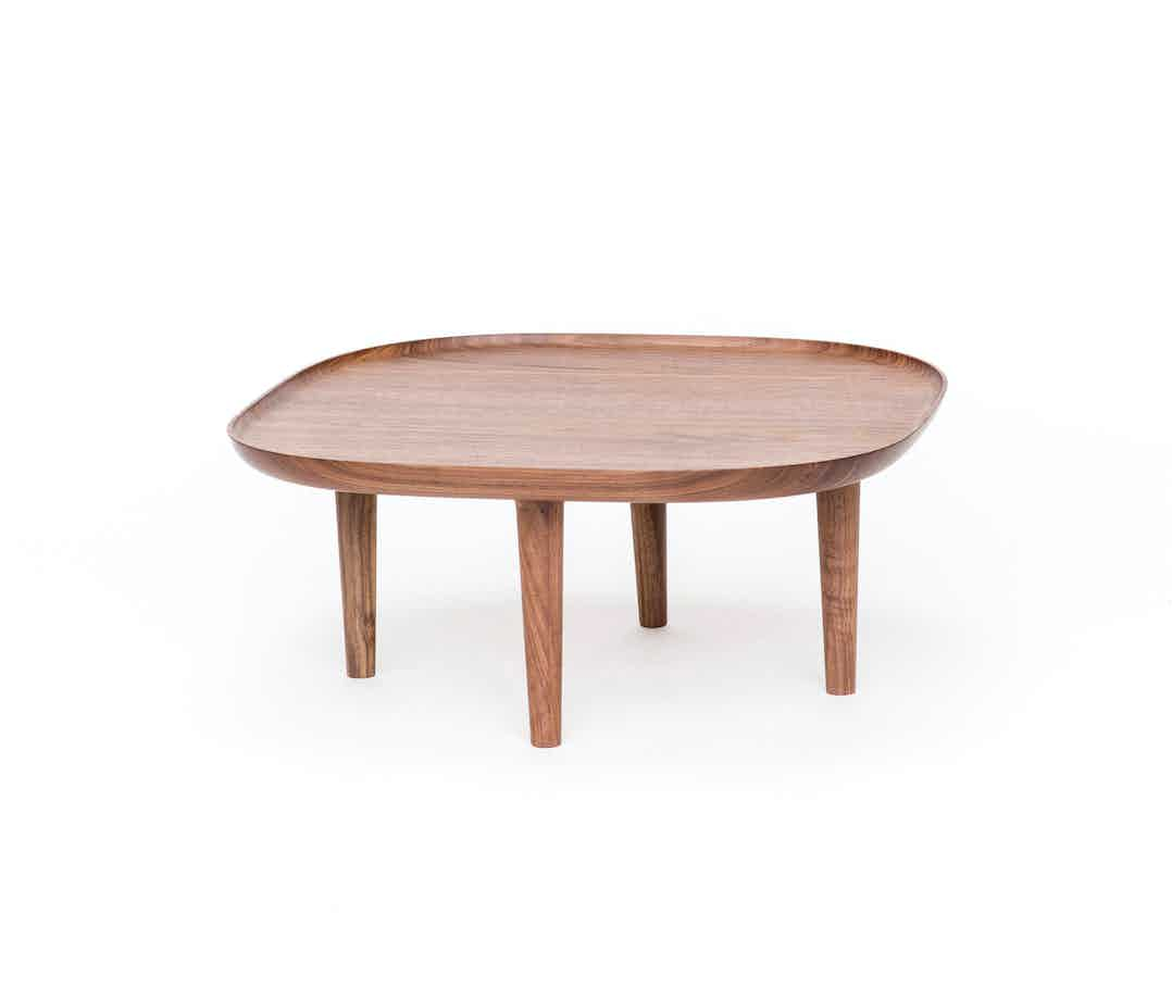 Poiat Walnut Fiori Table Haute Living