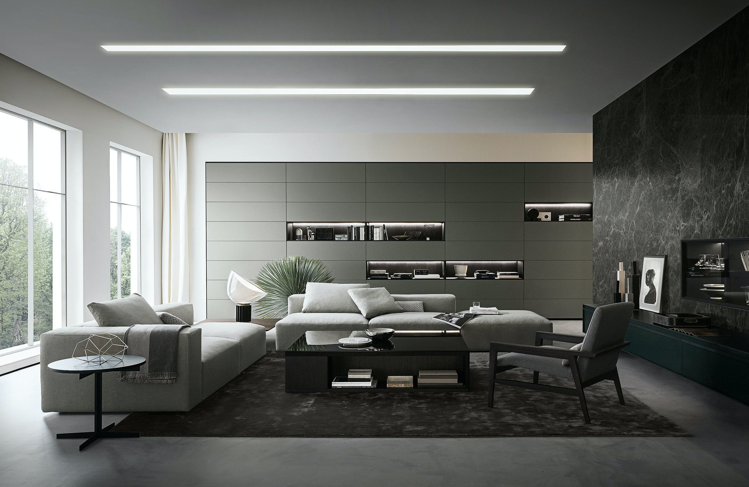Giellesse Flexus System Grey Haute Living
