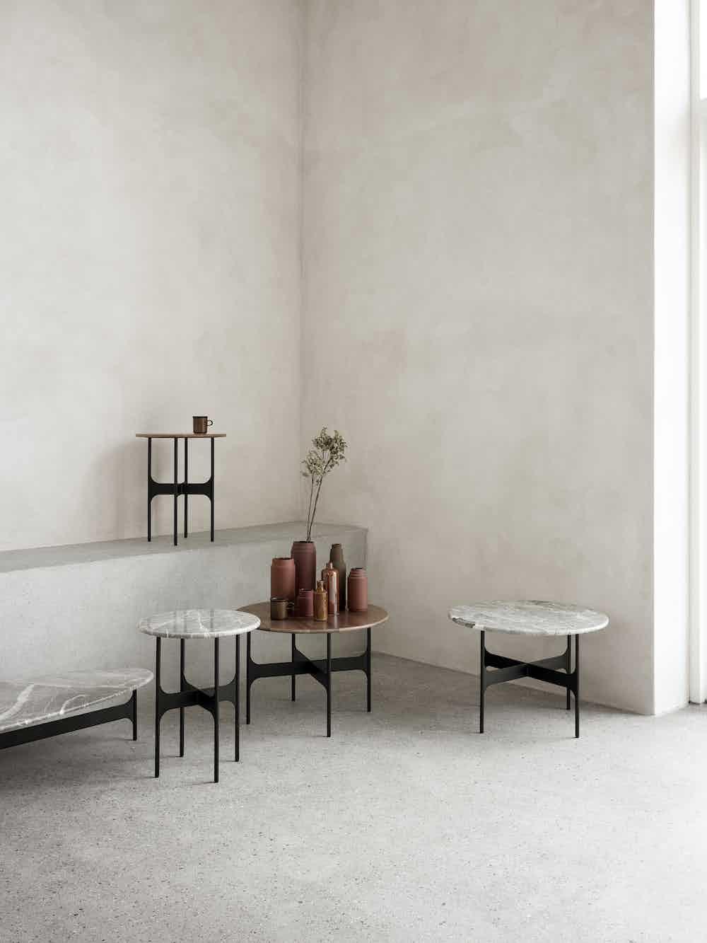 Wendelbo floema table assorted haute living