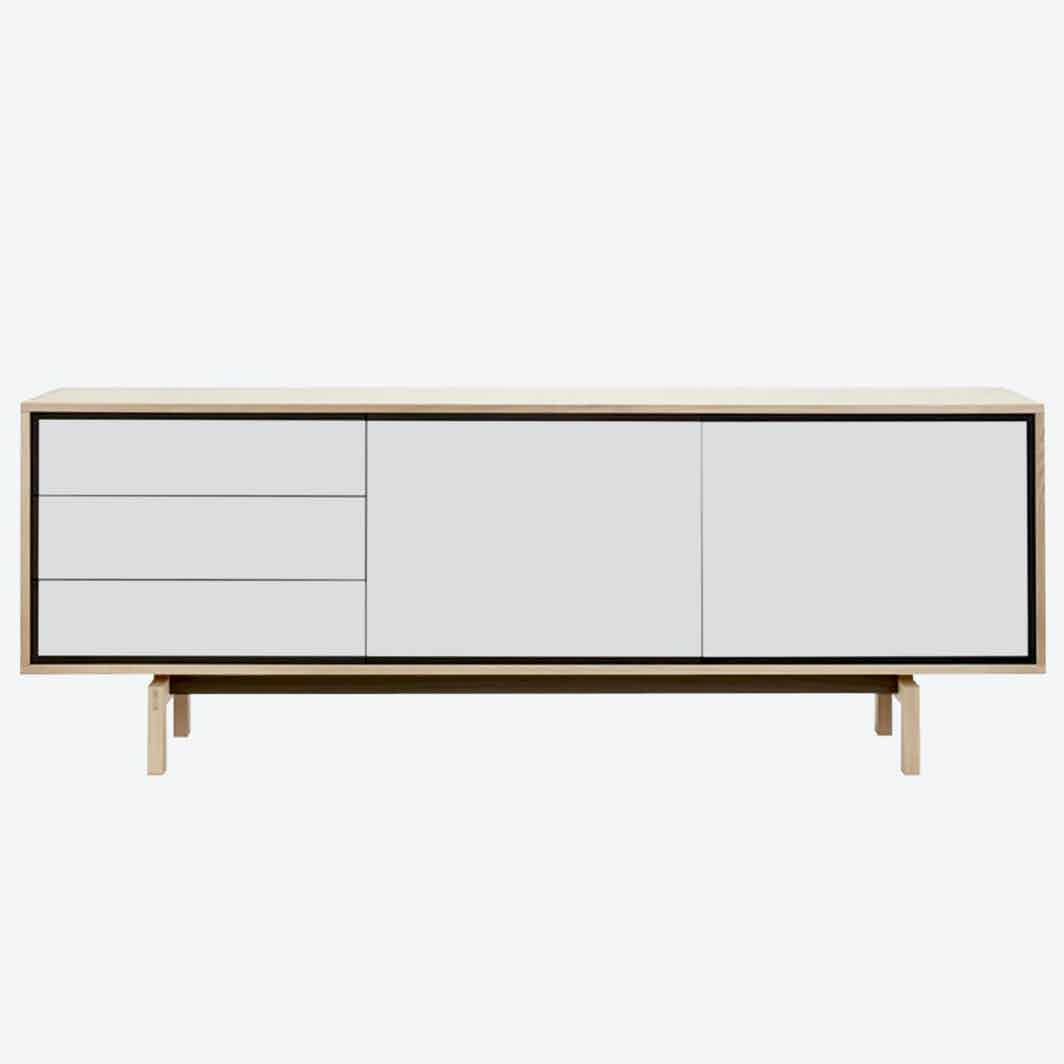 Bolia floow sideboard white haute living