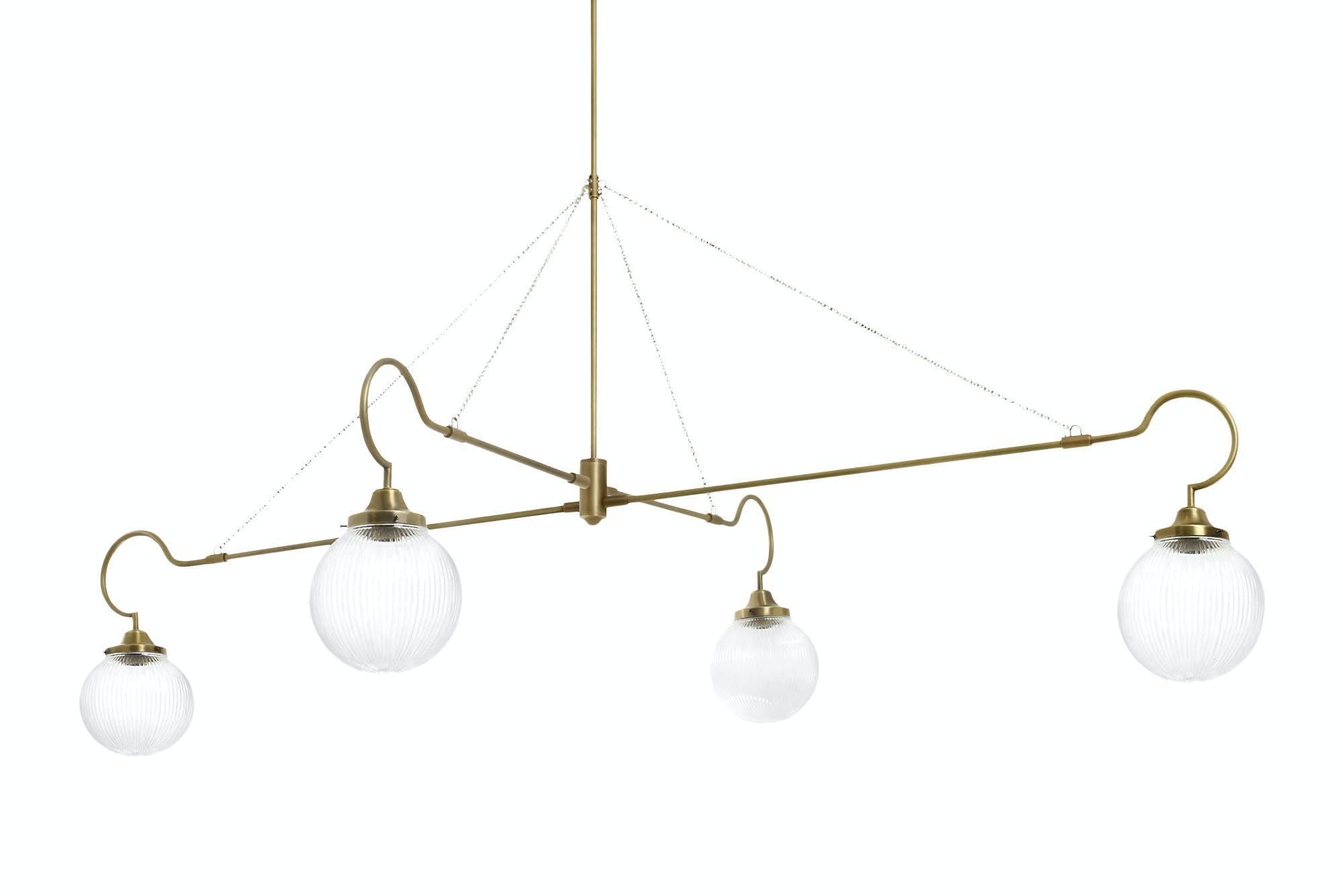 Cto Lighting Floren Four Arm Hanging Haute Living