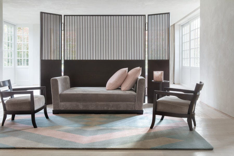 Limited Edition Rugs Flow Rug Pink Insitu 2 Haute Living