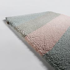 Limited Edition Rugs Flow Rug Pink Morning Haute Living