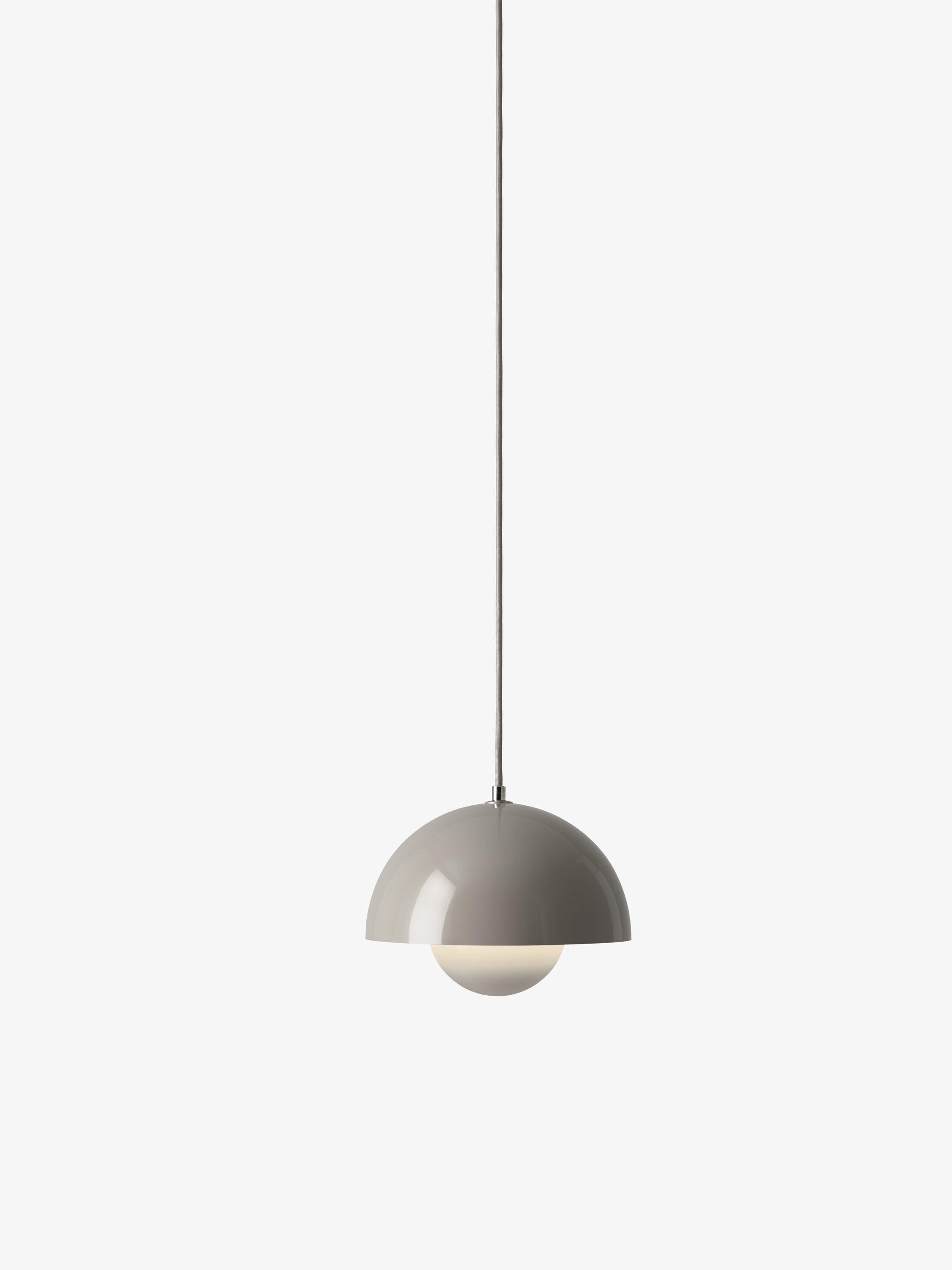 Flowerpot Pendant Vp1 Grey Beige Light 1