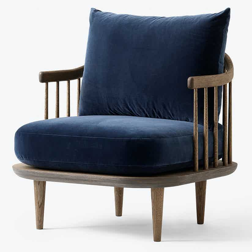 Tradition Fly Chair Sc10 Blue Angle Haute Living
