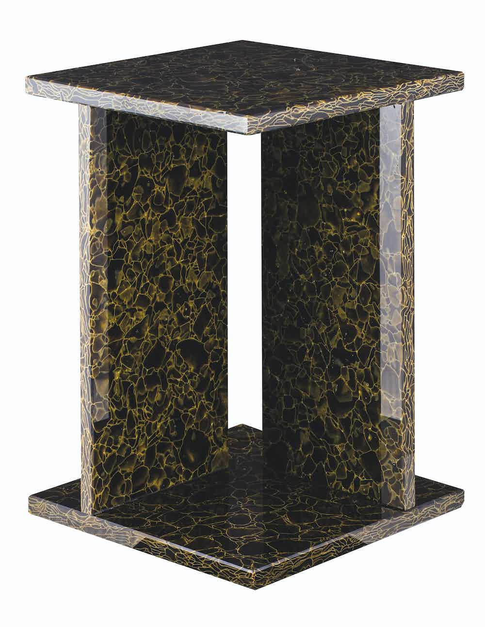 Pulpo font table brown square high haute living