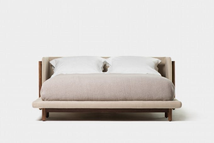 Frame Bed With Arms 1