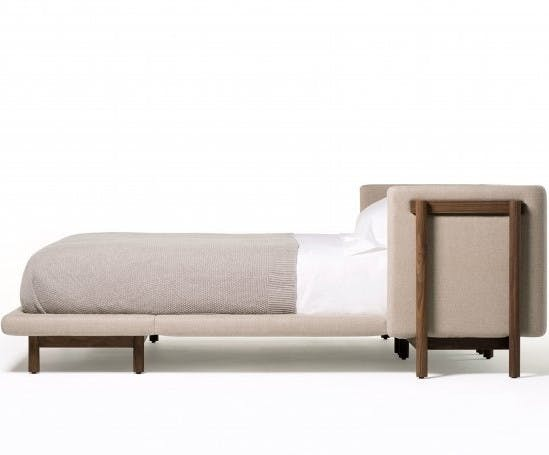 Frame Bed With Arms 2