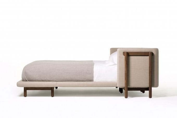De La Espada Neri Hu Frame Bed Side Arms Haute Living