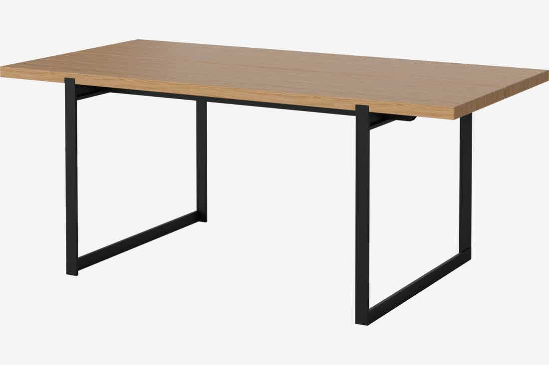 Bolia Frame Dining Table Black Legs Angle