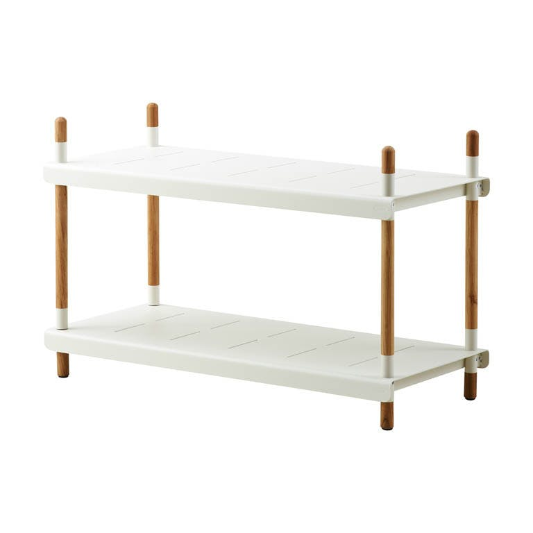 Frame Rack 2 Low White