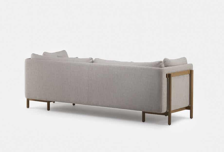 De La Espada Neri Hu Frame Medium Sofa Back Haute Living