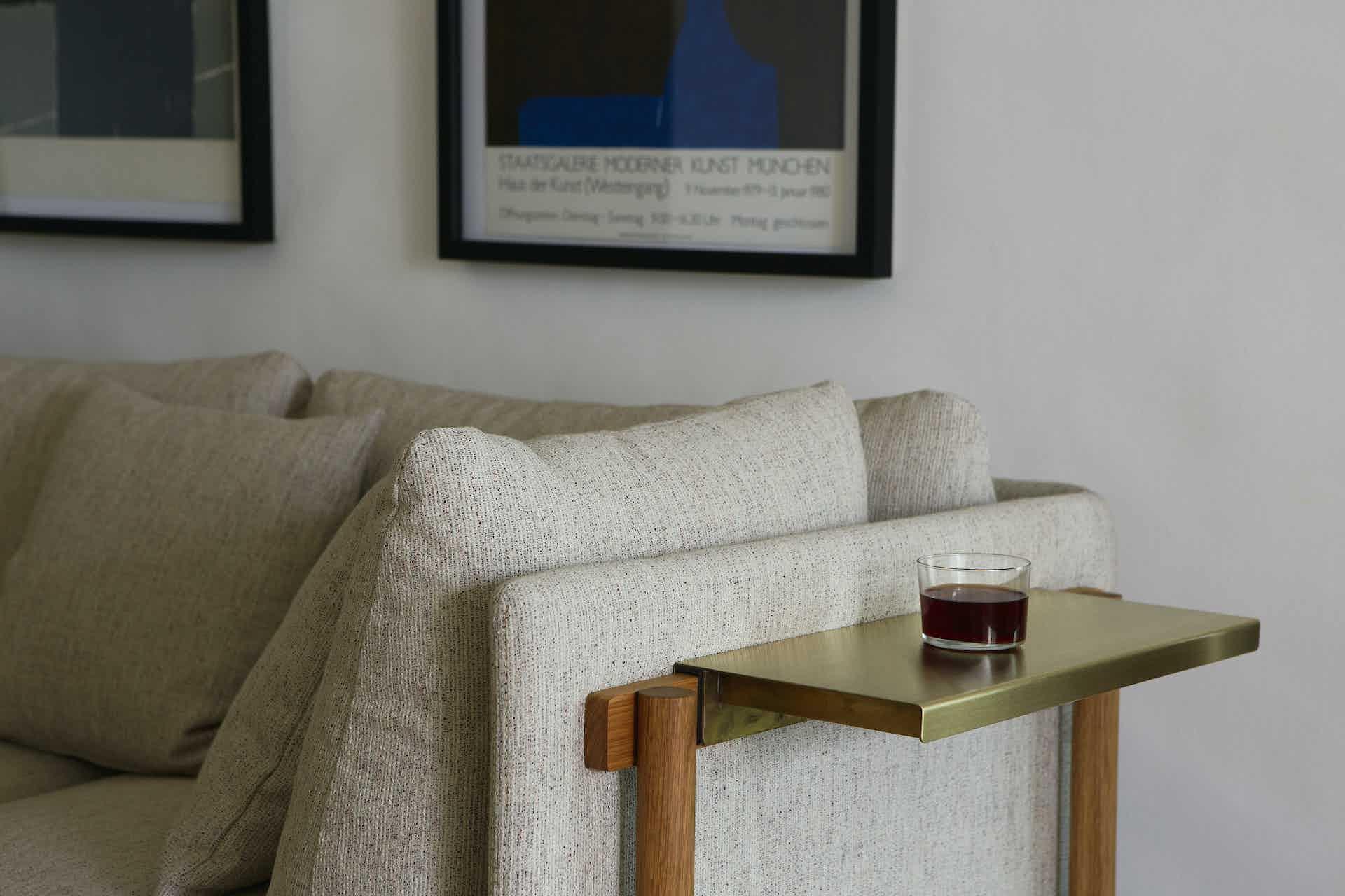 De La Espada Neri Hu Frame Medium Sofa Insitu Detail Haute Living