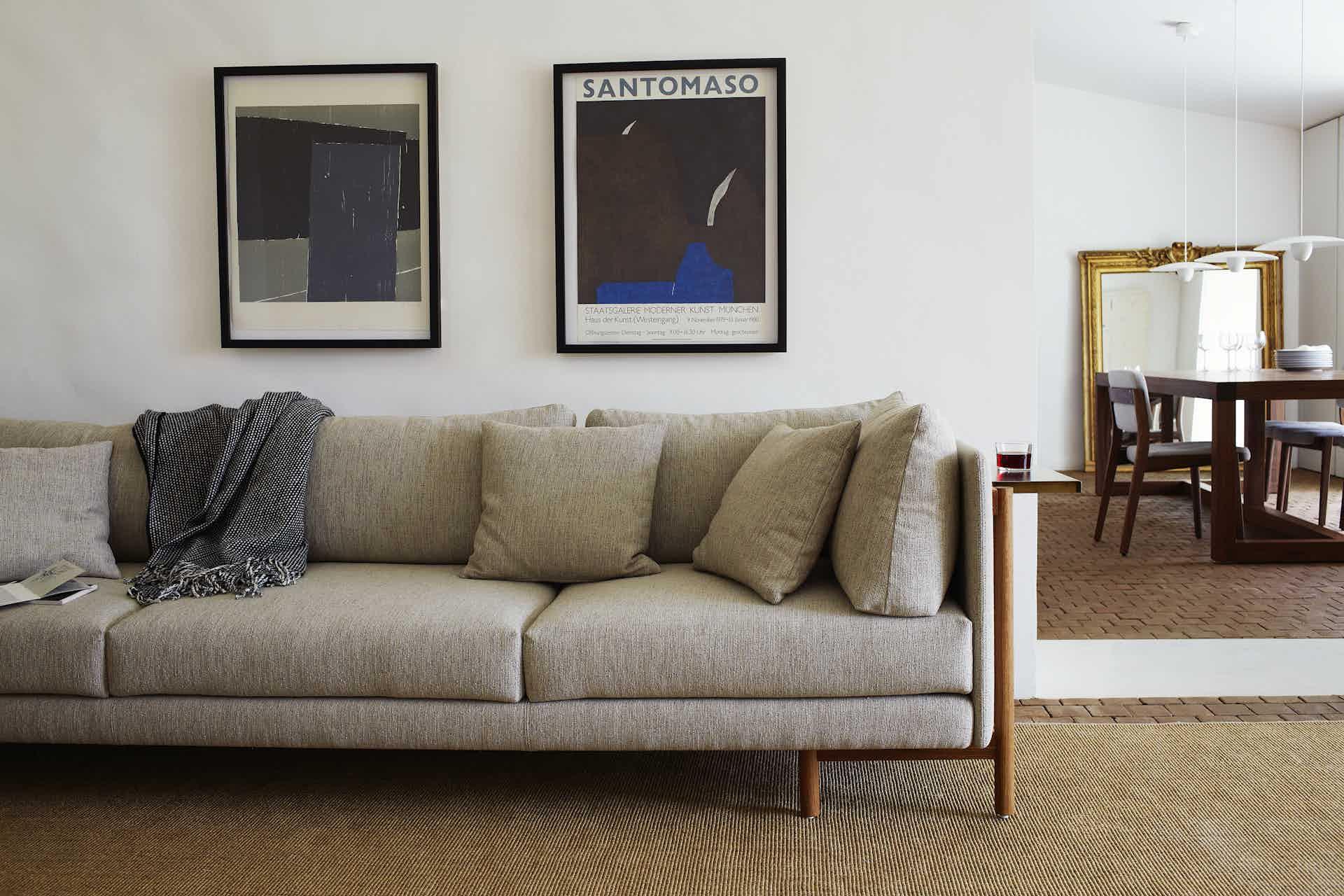 De La Espada Neri Hu Frame Medium Sofa Insitu Haute Living