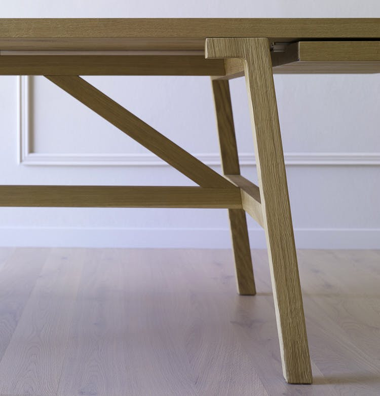 Miniforms Frattino Table Leg Detail Haute Living