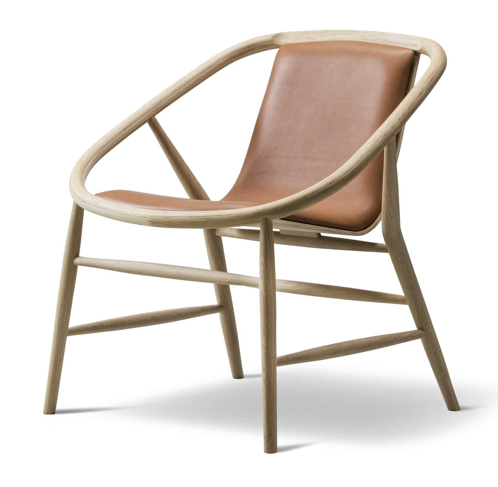 Fredericia Furniture Eve Chair Angle Haute Living 181128 145049