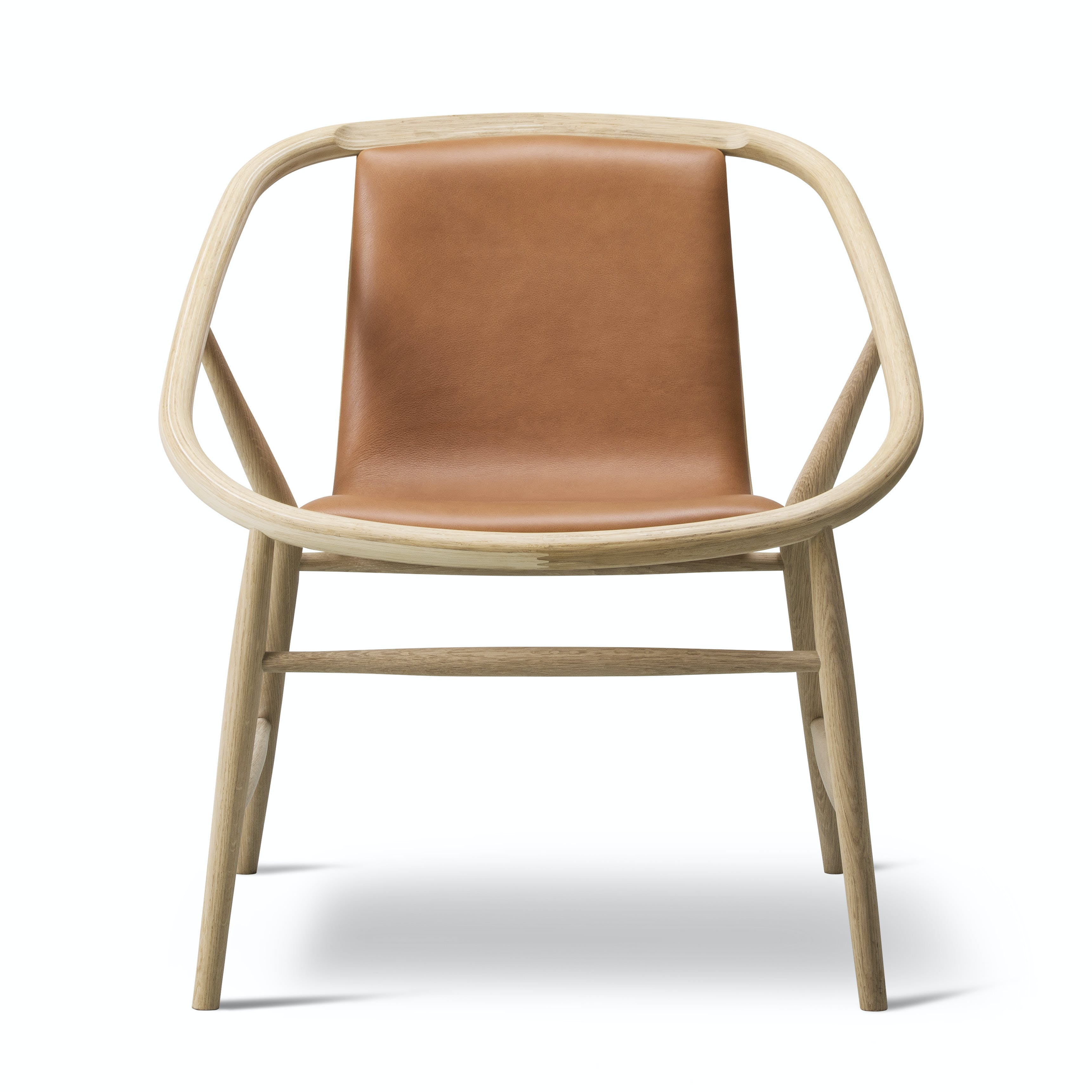 Fredericia Eve Chair Front Haute Living