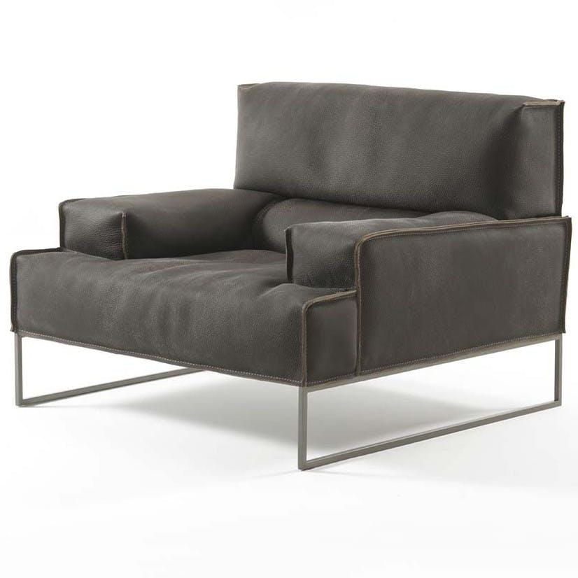 Frigerio Cloud Armchair Angle Haute Living