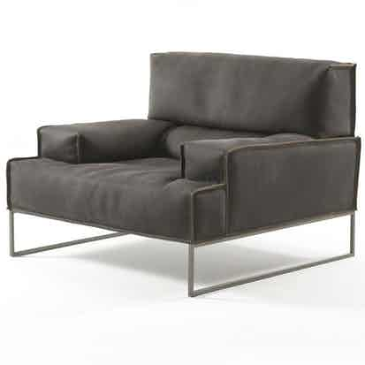 Frigerio Cloud Armchair Angle Haute Living