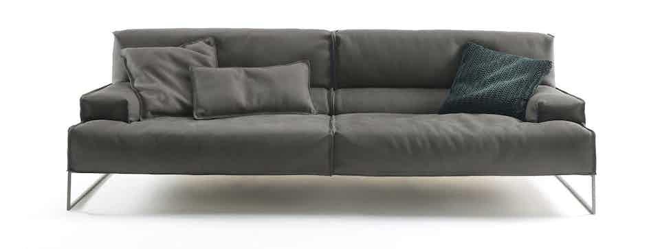 Frigerio Cloud Sofa Front Haute Living