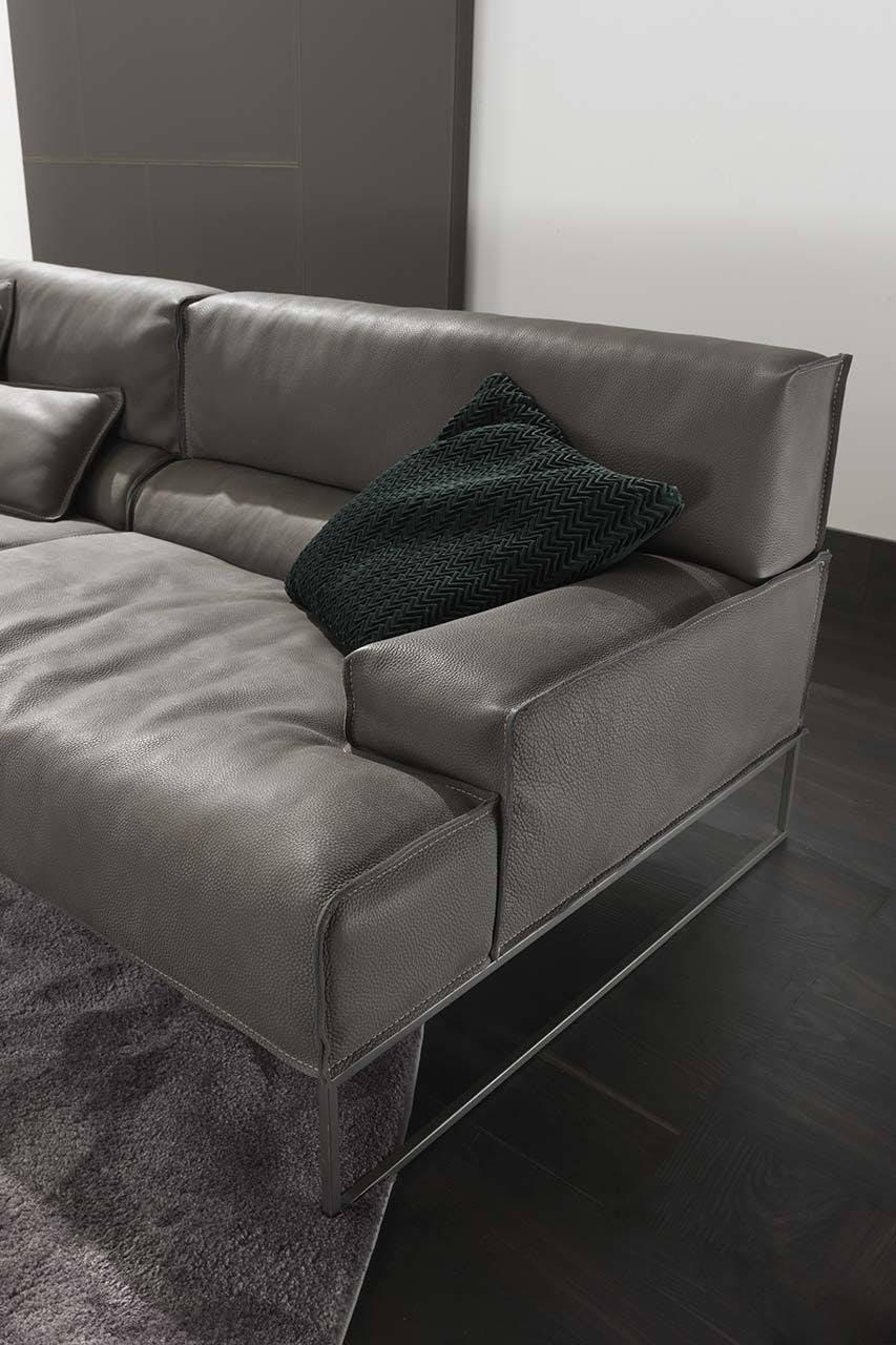 Frigerio Cloud Sofa Insitu Detail Frame Haute Living