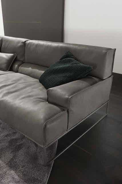 Frigerio Cloud Sofa Insitu Detail Frame Haute Living