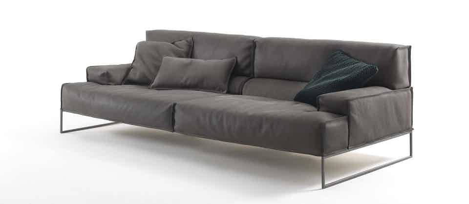 Frigerio Cloud Sofa Side Haute Living
