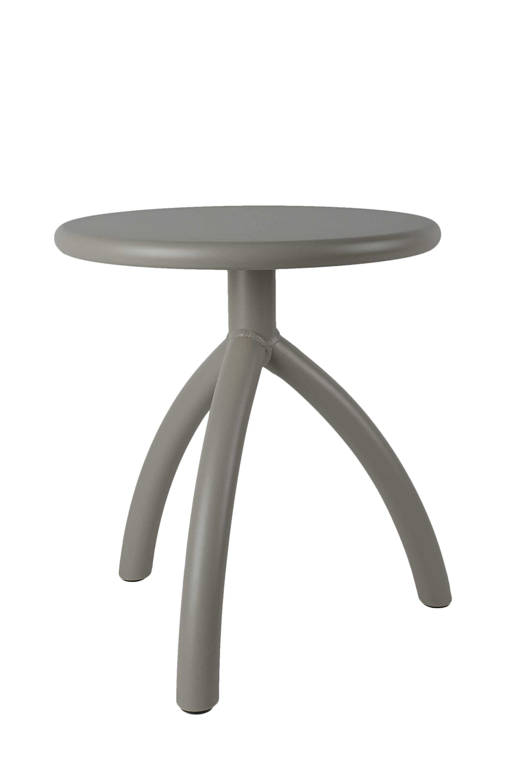 Functionals Dark Grey Stool Haute Living