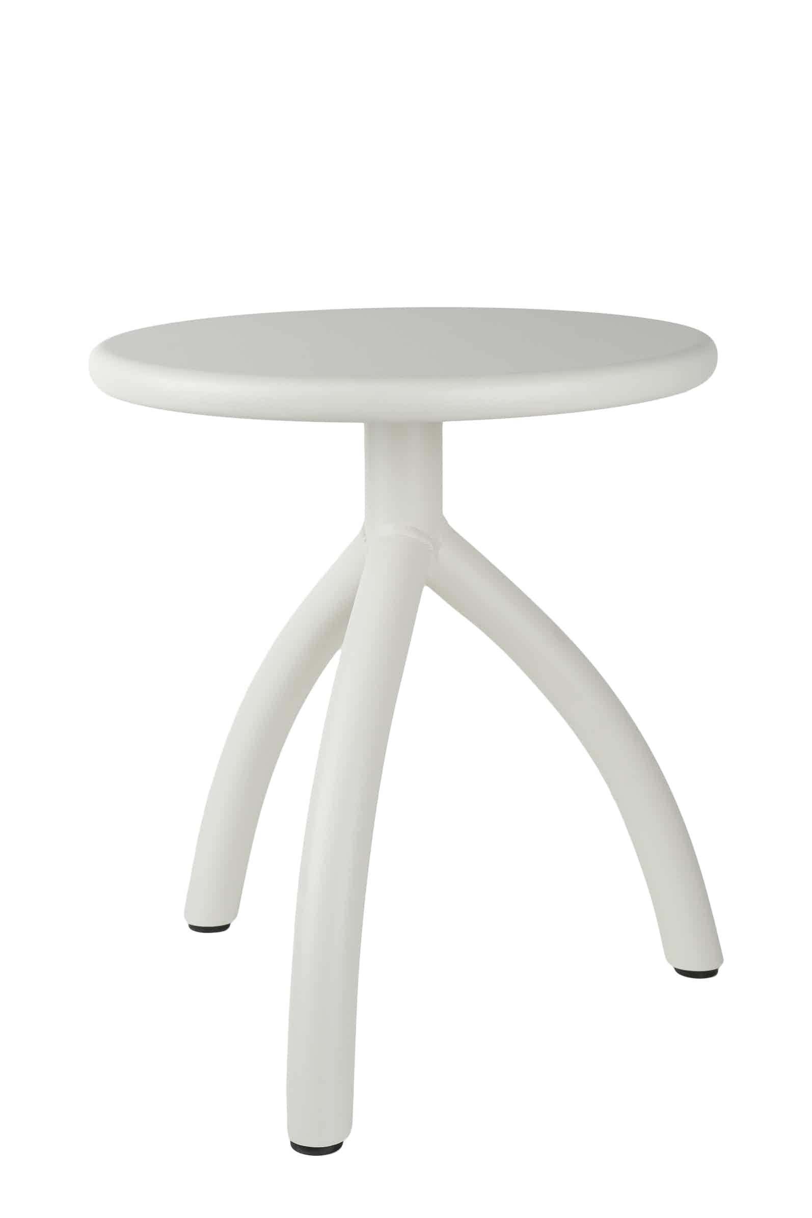 Functionals Off White Stool Haute Living
