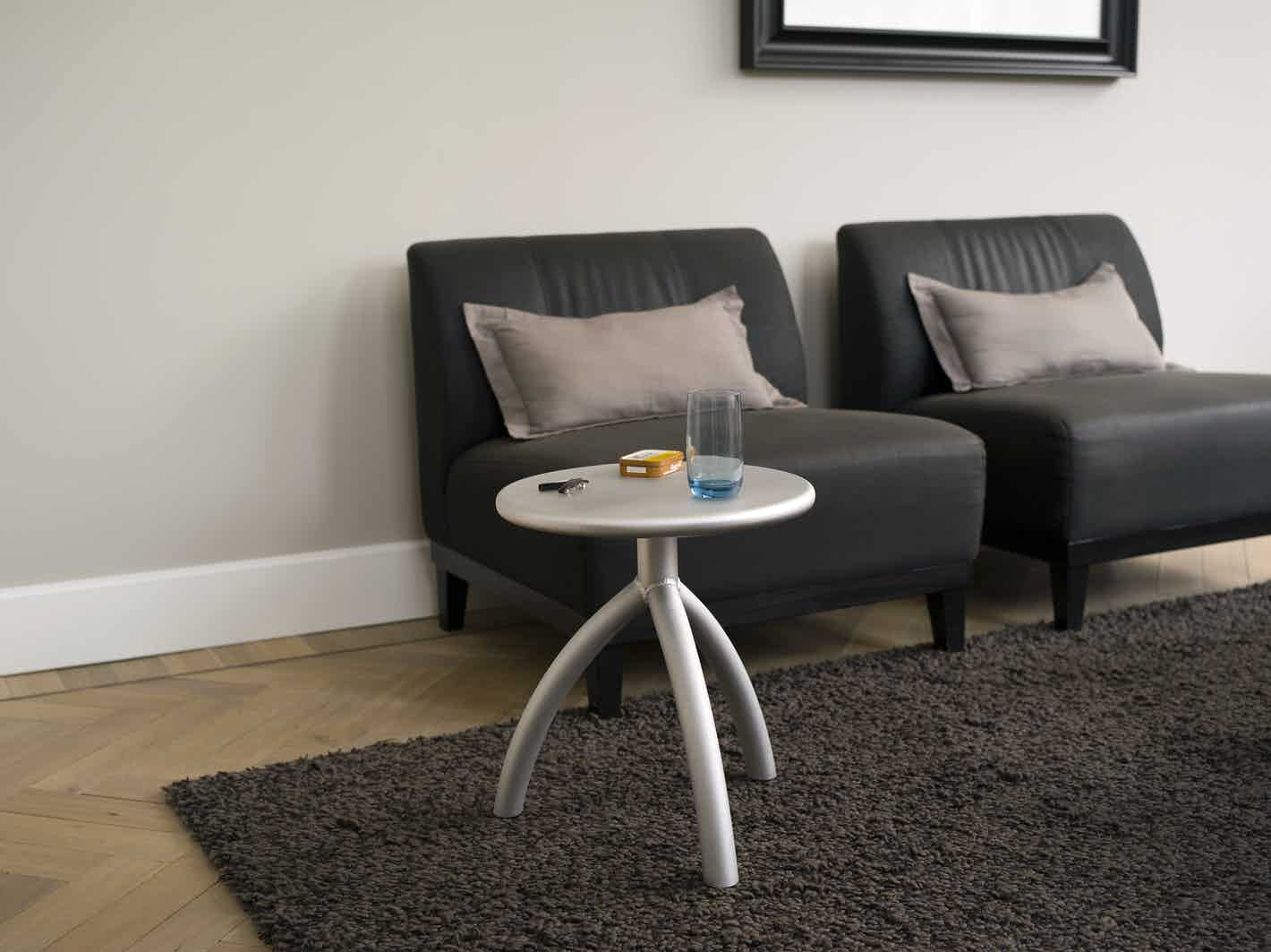 Functionals Silver Stool Insitu Haute Living